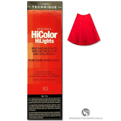 L'Oreal HiColor Red