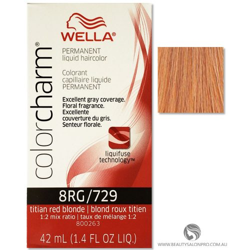 Wella Color Charm 8RG
